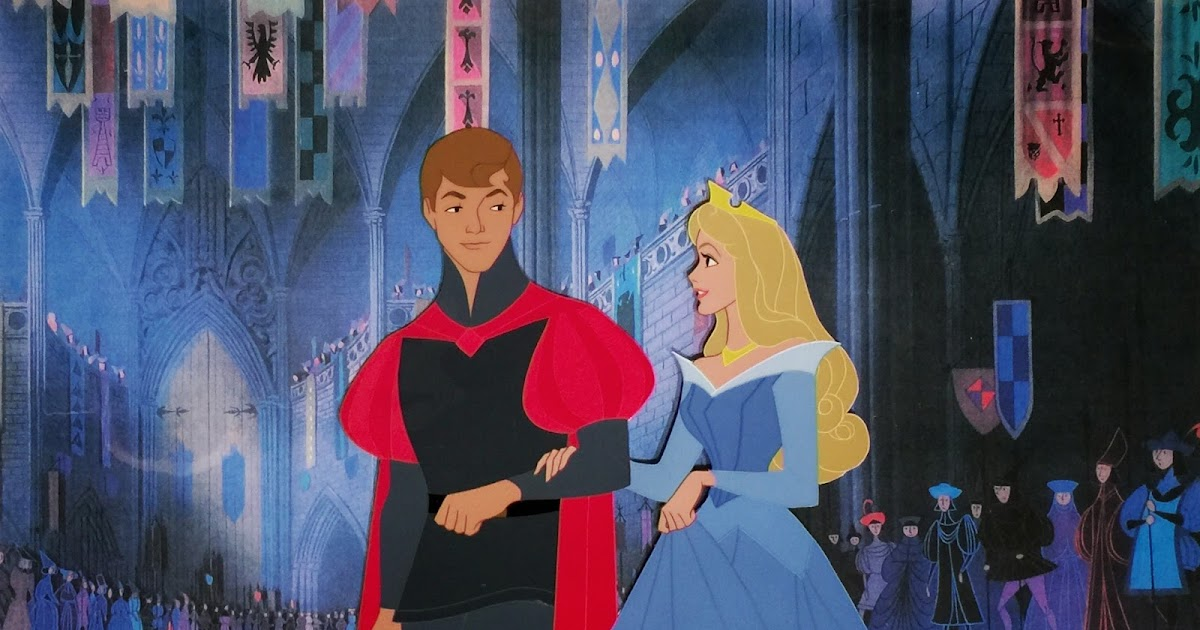 Animation Collection Prince Phillip And Princess Aurora
