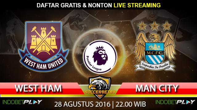 Prediksi Manchester City vs West Ham 28 Agustus 2016 (Liga Inggris)