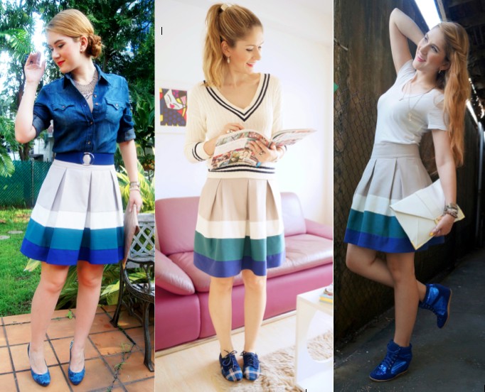 One Skirt, 3 Ways!!