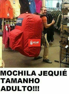 Mochila entregue pela prefeitura de Jequié vira piada na Internet