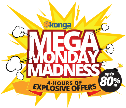 Konga Mega Monday Madness Get 80% Off Your Orders