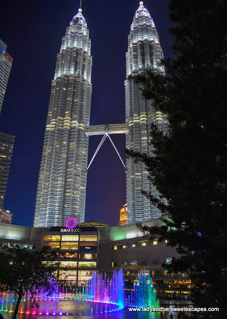 Lake Symphony at KLCC Park