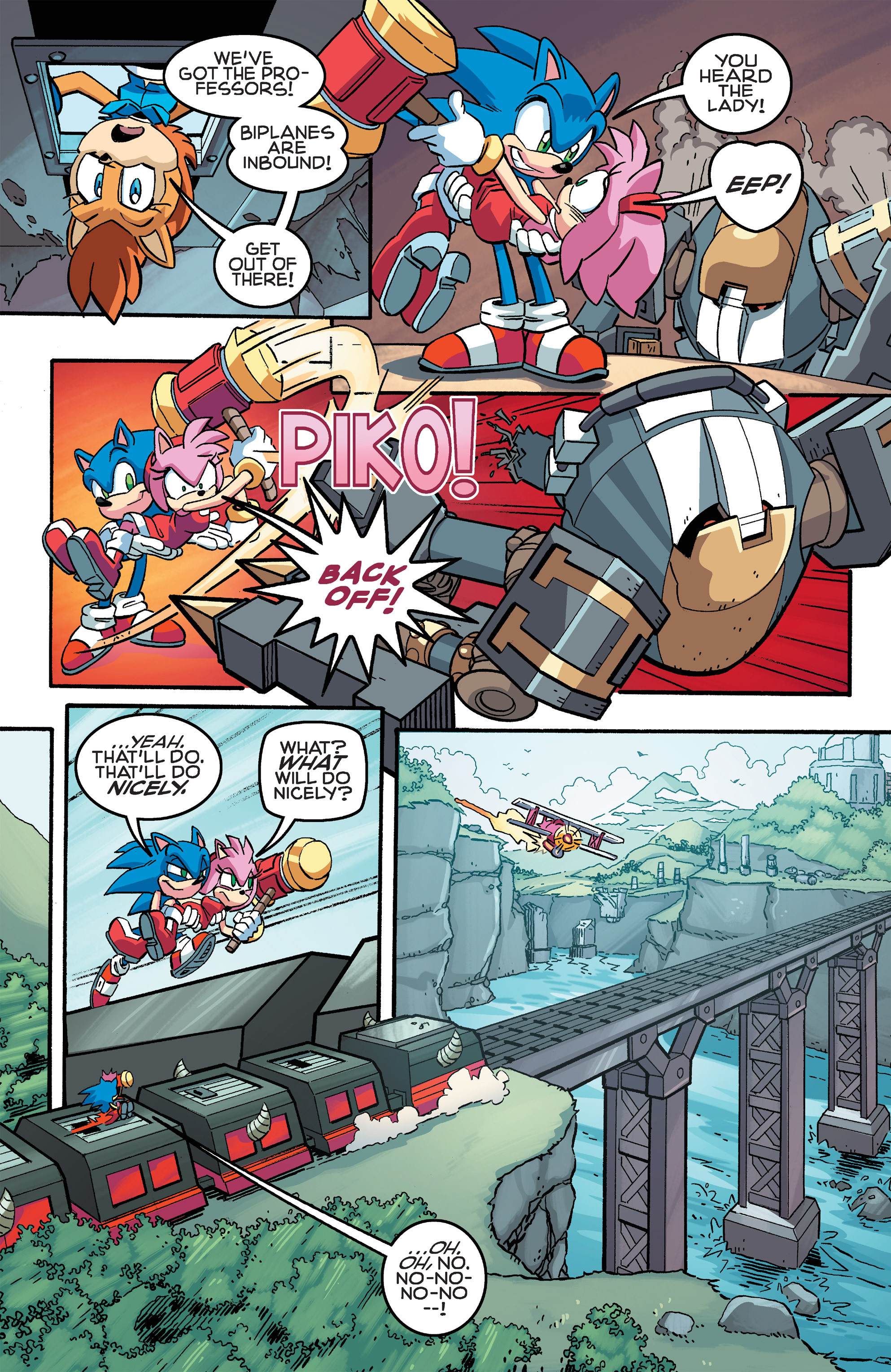 Read online Sonic The Hedgehog comic -  Issue #259 - 11