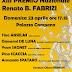"""Eventi. XIII Premio nazionale """"Renato B. Fabrizi"""" a Yvan Sagnet"""