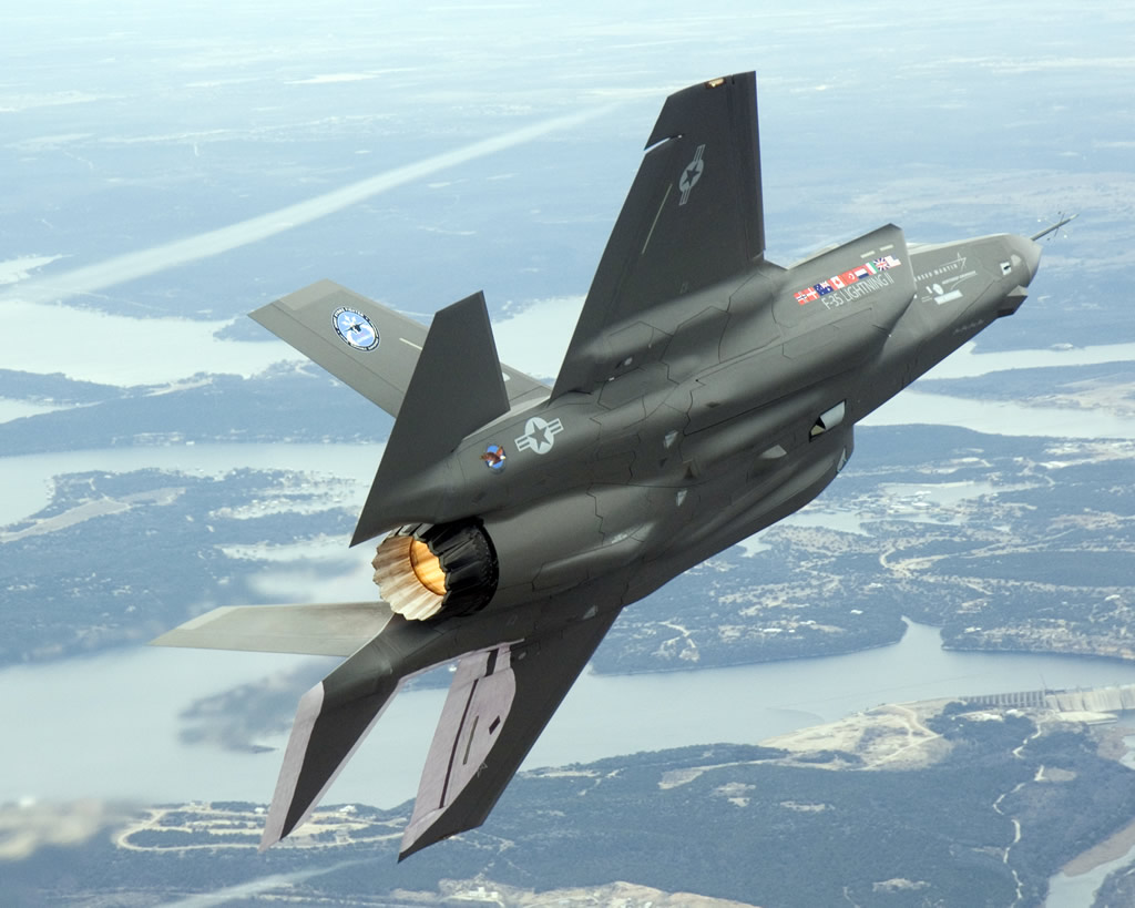 Jet Airlines  F-...F 35 Fighter Jet Wallpaper