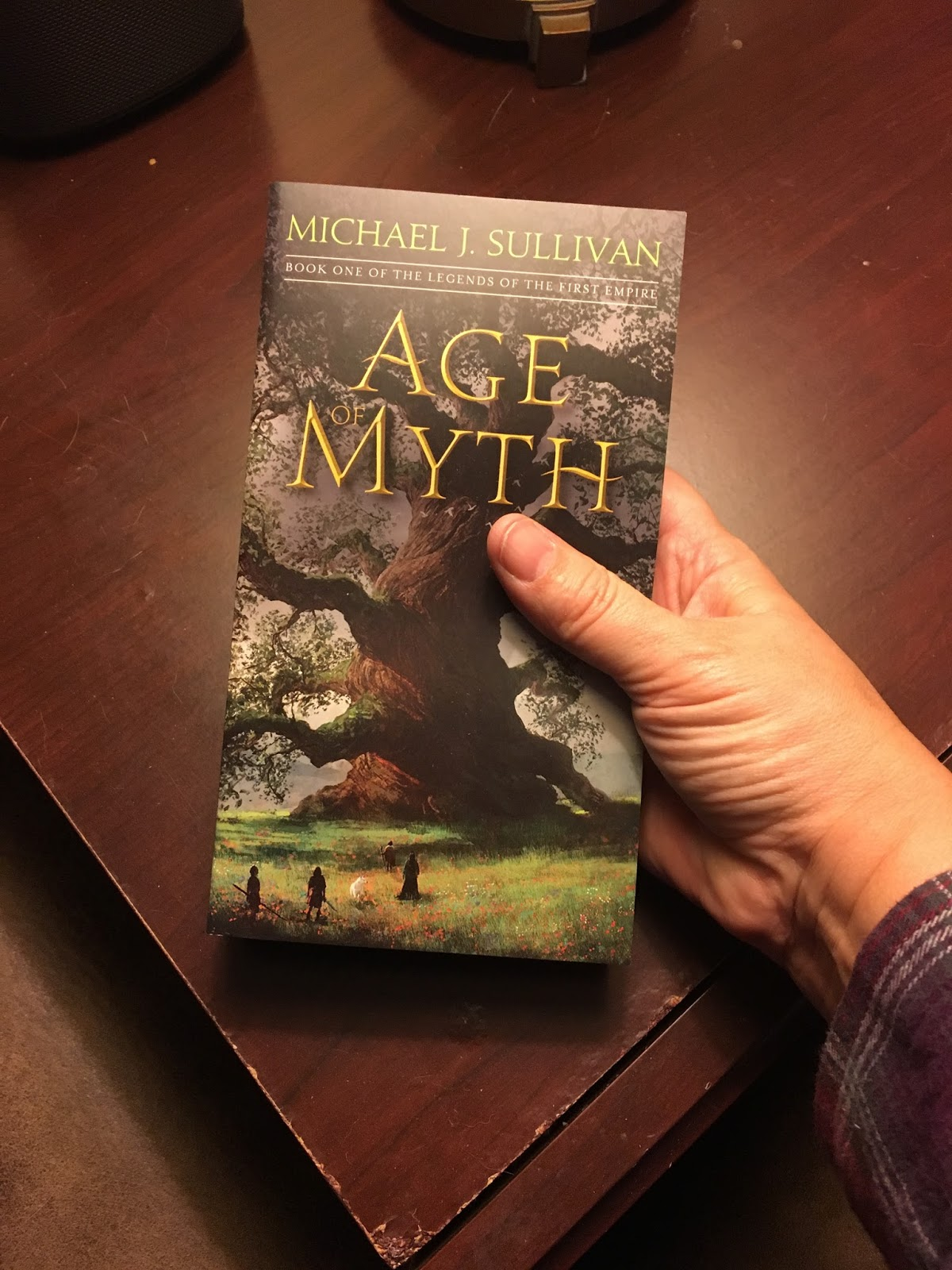 Age Of Myth Paperback Release Day