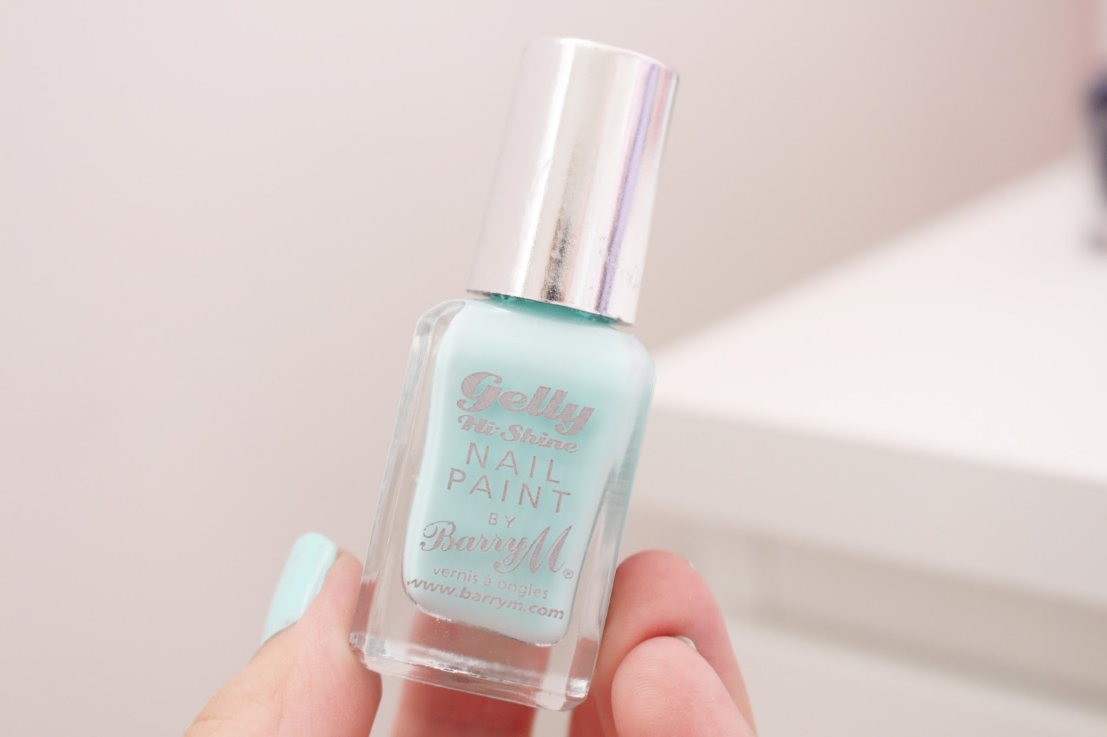 Barry M Hi-Shine Gelly Nail Polish in Sugar Apple