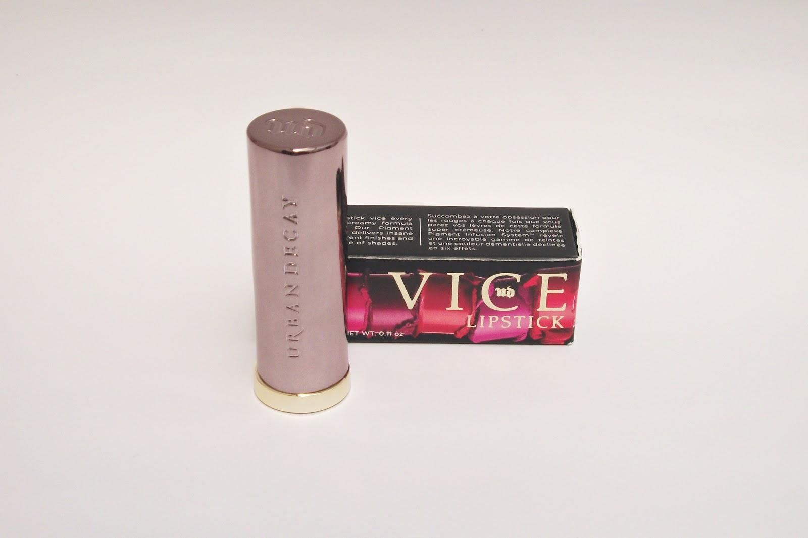 Batom Urban Decay Vice Lipstick Stark Naked