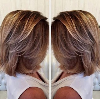 Natural Balayage Dark Blonde