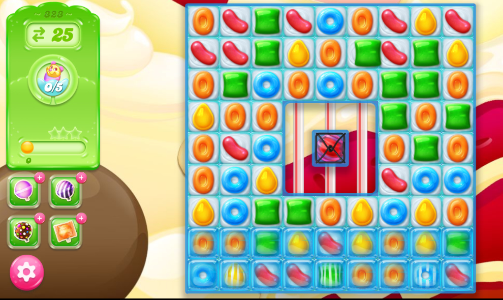 Candy Crush Jelly Saga 323