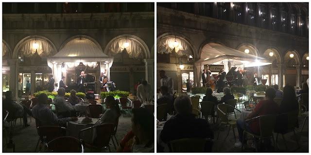 Restaurantes e cafés famosos na Piazza San Marco, Veneza