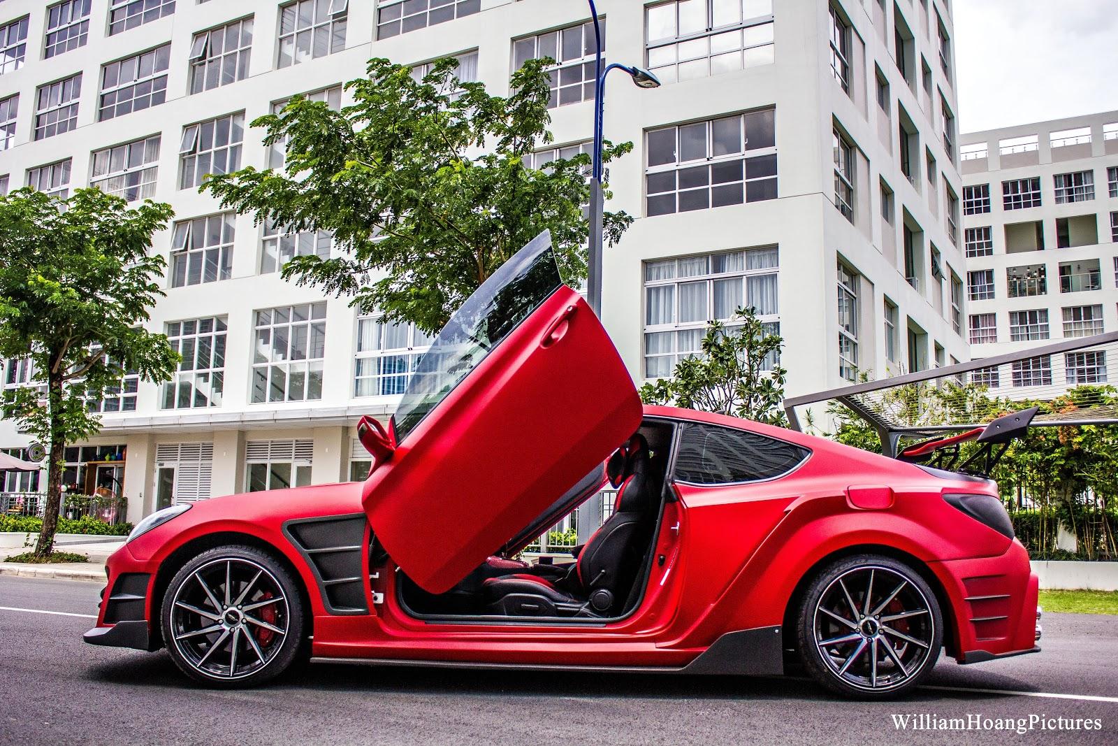 Phong cách, đường nét, mâm xe, đuôi xe đã được nâng tầm mới...một siêu xe thứ thiệt