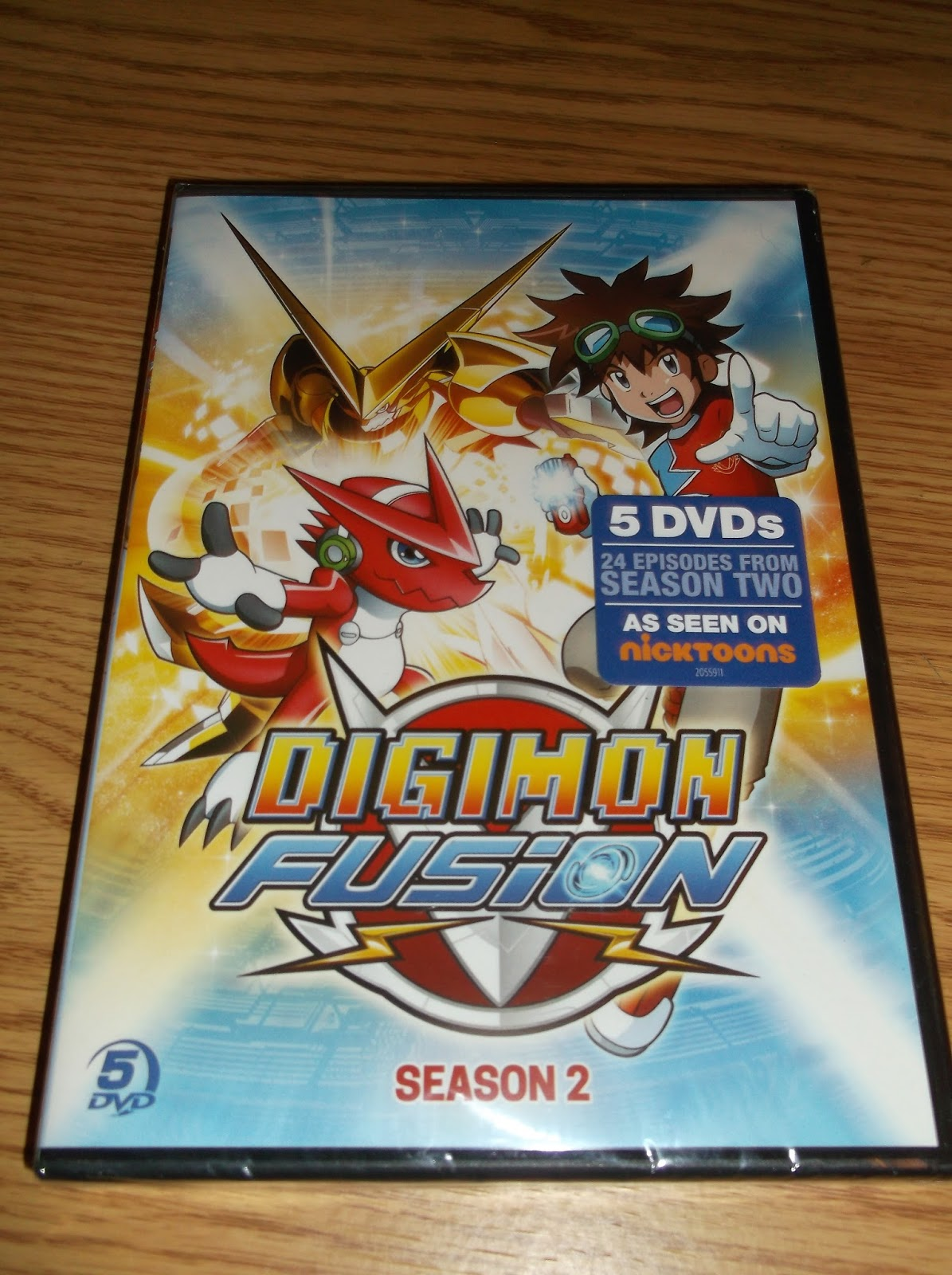 Missys Product Reviews : Digimon Fusion Season 2
