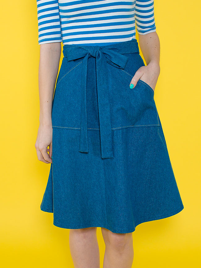 Miette skirt sewing pattern - Tilly and the Buttons