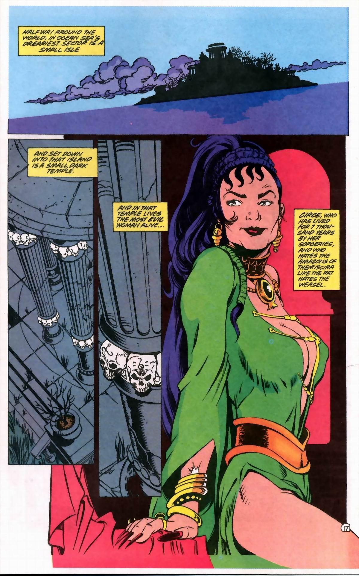 Read online Wonder Woman (1987) comic -  Issue #76 - 17
