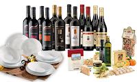 Logo Giordano Vini + 6 prodotti alimentari ti regala il servizio Piatti quadratii