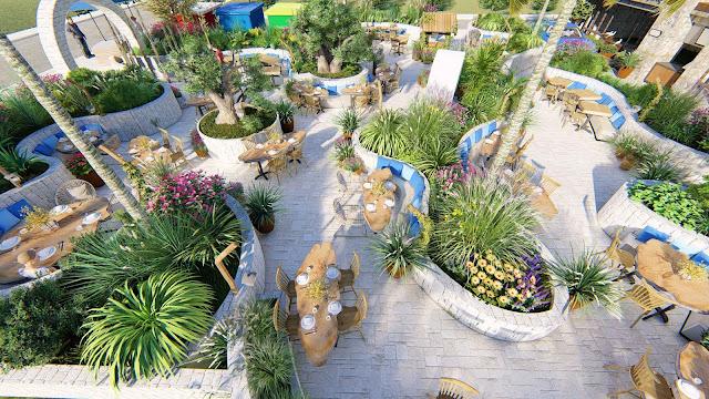 hotel landscaping dubai