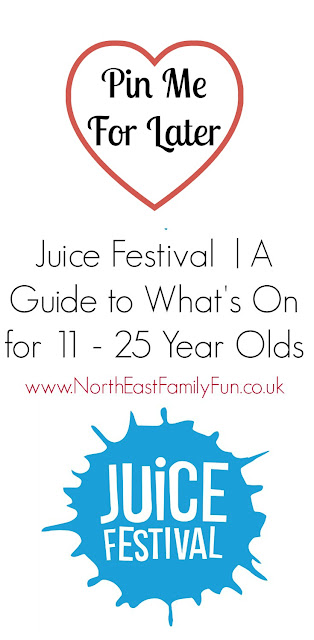 Juice Festival | A Guide to What's On for 11-25 Year Olds, Teens and Young People. October Half Term | NewcastleGateshead