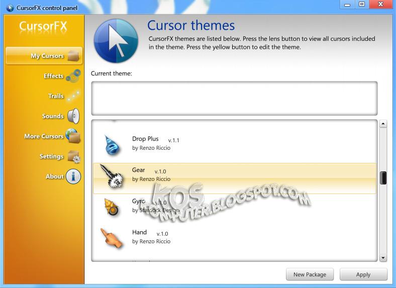 Stardock CursorFX Plus 2 11 + KeyPatch - Software Shushu