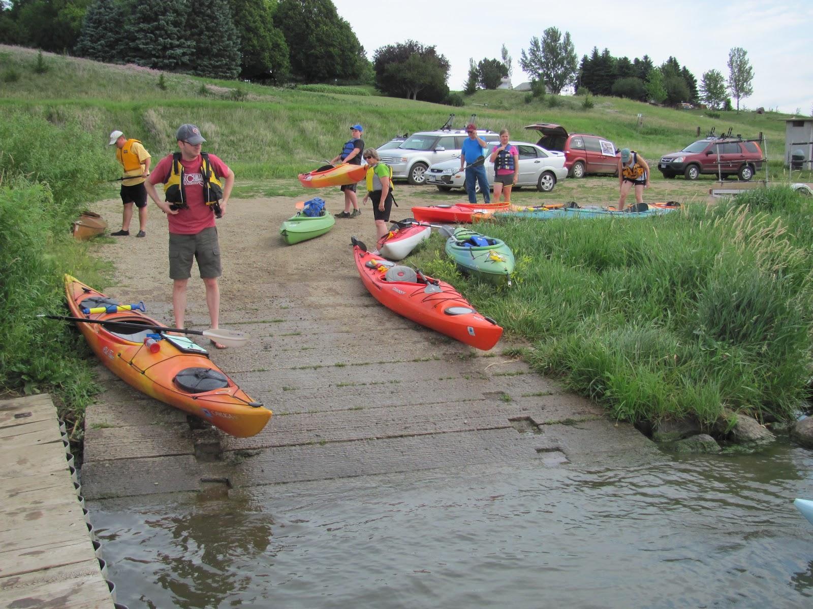 Kayaking the Lakes of South Dakota: SDCKA Water Sampling