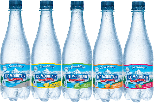 New Coupon: $1.00/3 1-Liter Bottles of Ice Mountain Sparkling Spring Water