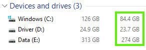 Penyimpanan Hard Disk lebih hemat setelah memakai CCleaner