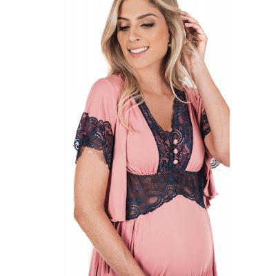 Camisola para Amamentação, gravidez e maternidade