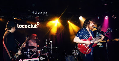 Con Parson Red Heads (crónica concierto Loco Club, 7-3-2019) 2