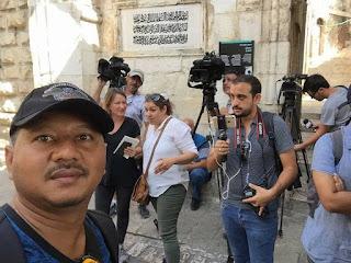 Catatan Perjalanan Hari-hari Terakhir Petugas Media Malaysia Ke Masjid Al-Aqsa-Datuk Akmar hisham