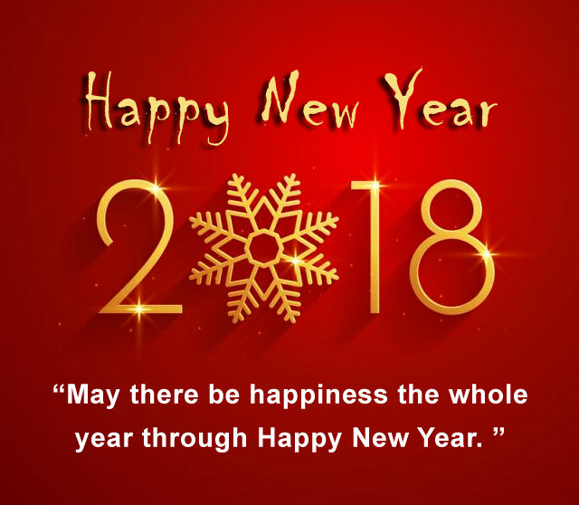 2018 happy new year shubhkamnaye