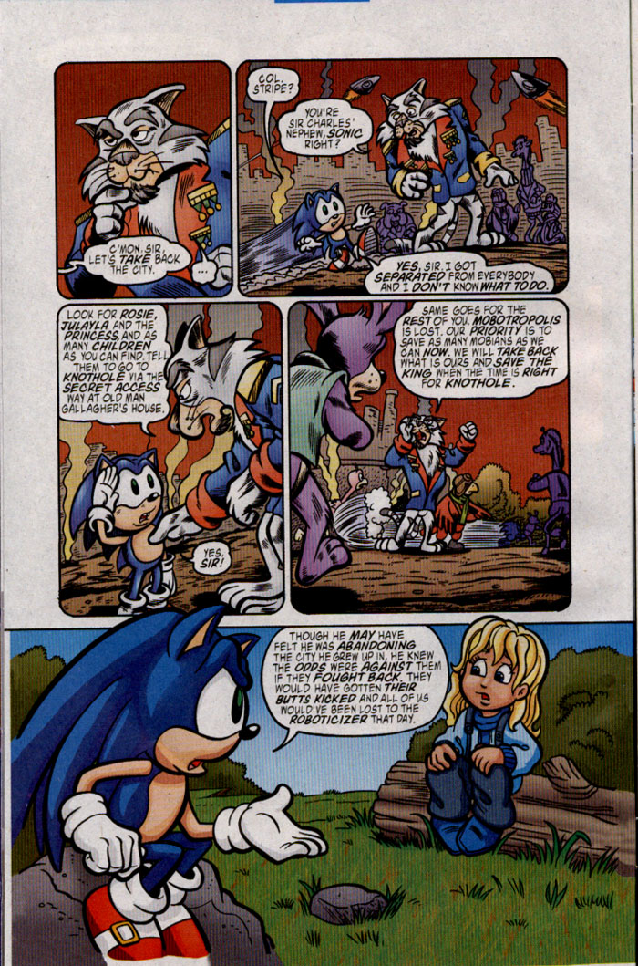 Read online Sonic The Hedgehog comic -  Issue #142 - 8
