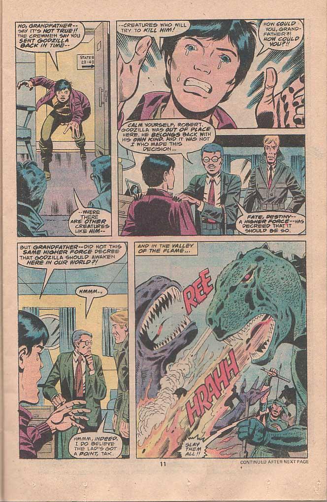Godzilla (1977) Issue #22 #22 - English 7