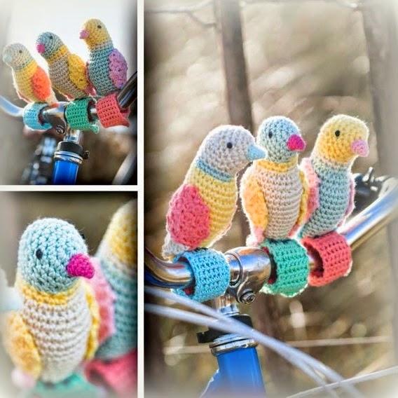 Bit Of Color Vogeltjes Fietsen Mee