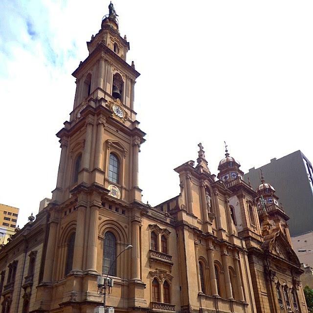 Igreja V.O.T do Carmo e Igreja Nossa Senhora do Carmo ao lado
