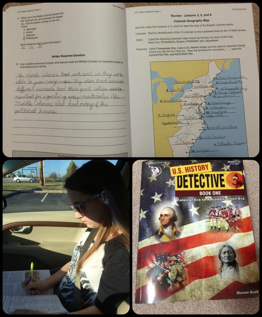 Unexpected Homeschool Us History Detective Book 1