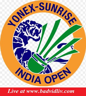 YONEX SUNRISE India Open 2017 live streaming and videos
