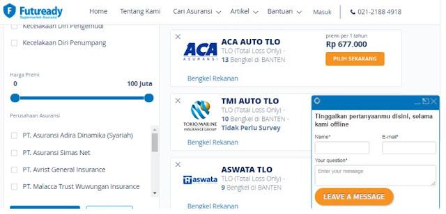 Futuready, Market Place Asuransi Terkemuka di Indonesia