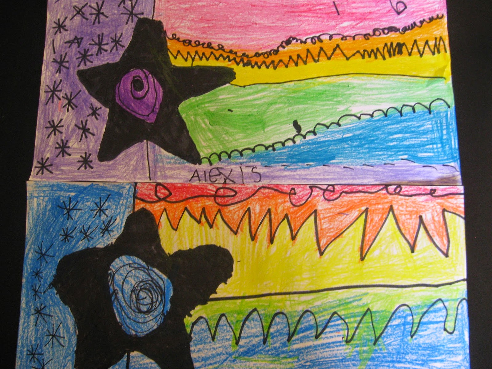 Jamestown Elementary Art Blog Kindergarten Rainbow Order