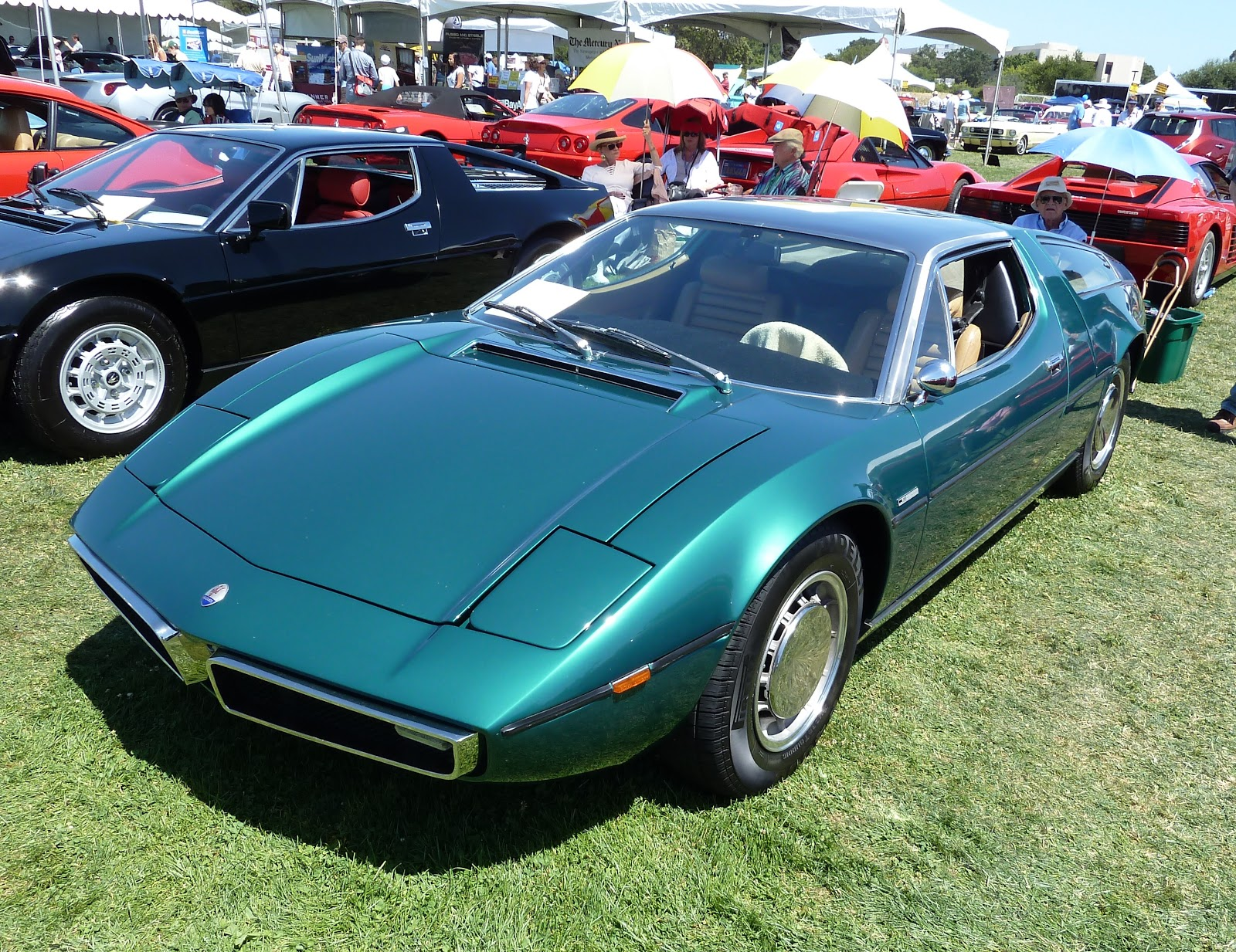 maserati bora and iso grifo why the big difference in value. Black Bedroom Furniture Sets. Home Design Ideas