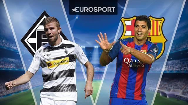 موعد مباراة برشلونة وبوروسيا مونشنغلادباخ اليوم الثلاثاء 6-12-2016 دوري أبطال اوروبا