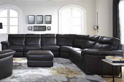 Four Piece Stationary Sofa by Natuzzi