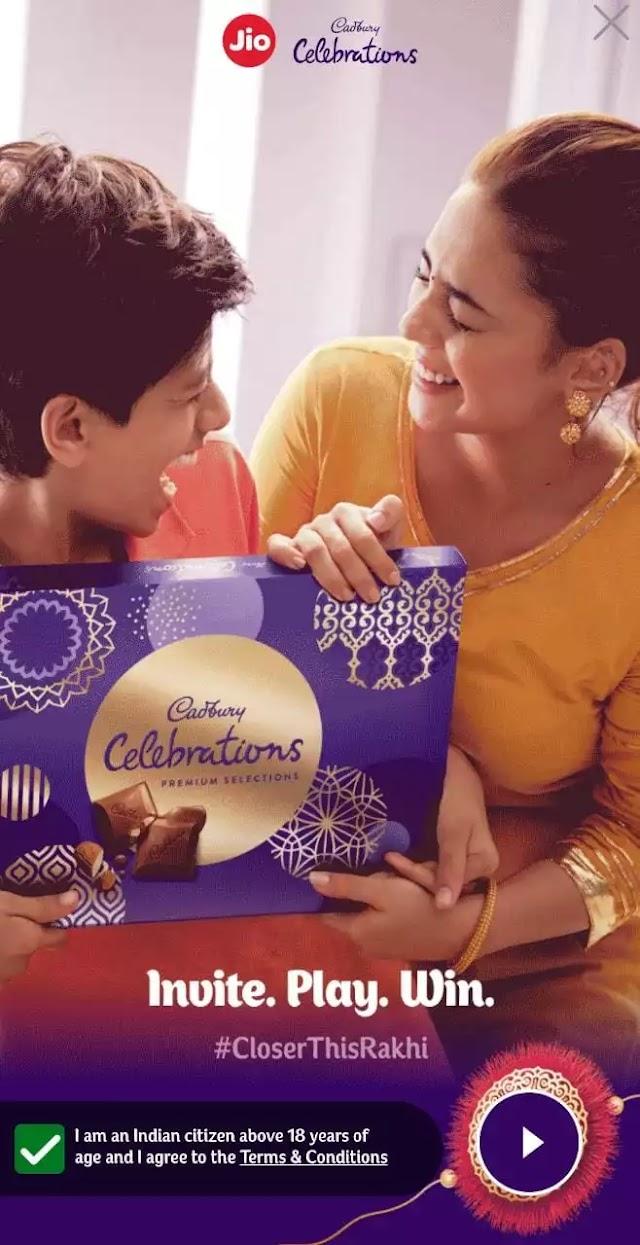 [OVER] Jio Cadbury Celebration: Win Free Data and Amazon Gift Voucher