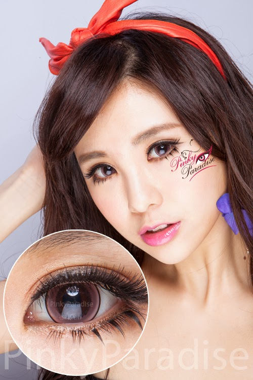 Princess Pinky Eclipse Pink Circle Lenses (Colored Contacts)