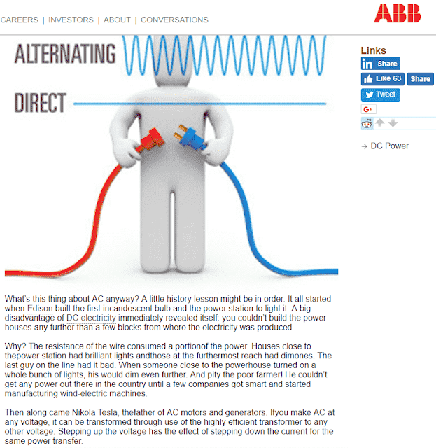 What is the Advantages and Disadvantages of D.C. (Direct Current) and A.C. (Alternating Current) Transmission System?