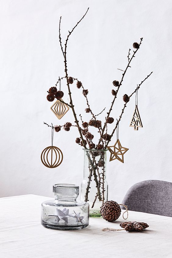 minimalist christmas decoration idea