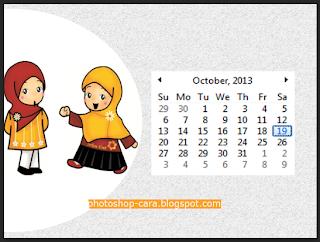 Cara Membuat Kalender dengan Photoshop