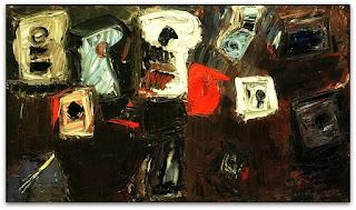 Iberê Camargo - Signo Branco (1976) - óleo sobre tela