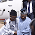 Former President Olusegun Obasanjo arrives Kaduna International Airport and is received by Governor El-Rufai (Photos)
