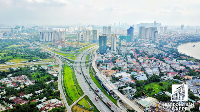Dự án tỷ đô ồ ạt đổ bộ : BĐS khu Đông tiếp tục sôi động