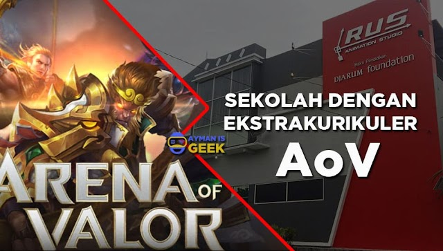 WOW! Arena of Valor (AOV) Menjadi Ekstrakurikuler di Sekolah ini